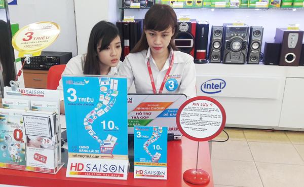 Vay tiền trả góp với lãi suất ưu đãi và thủ tục hết sức đơn giản tại HD SAISON