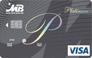 Thẻ tín dụng MB Visa Platinum