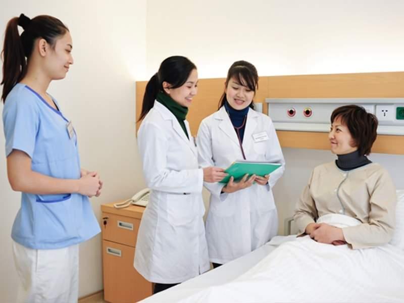 Người được bảo hiểm nhận được Quyền lợi khám chữa bệnh tại các bệnh viện uy tín, chất lượng