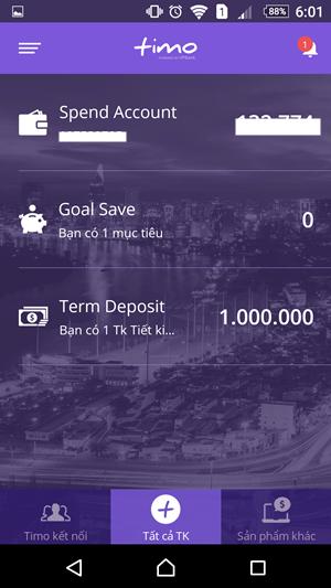 chọn Term Deposit