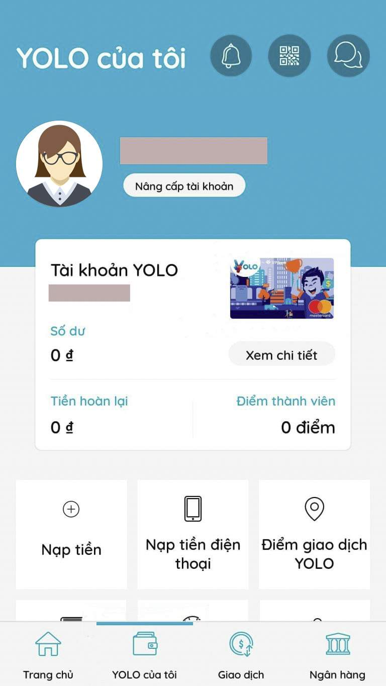 Tạo thẻ Online YOLO