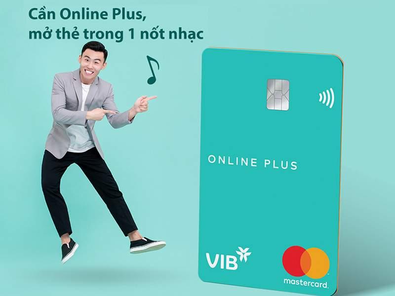Thẻ tín dụng VIB Online Plus