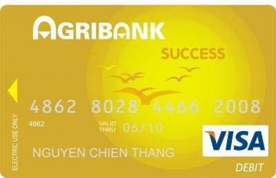 Thẻ tín dụng quốc tế Agribank