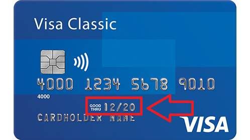 Ngày hết hạn của thẻ tín dụng