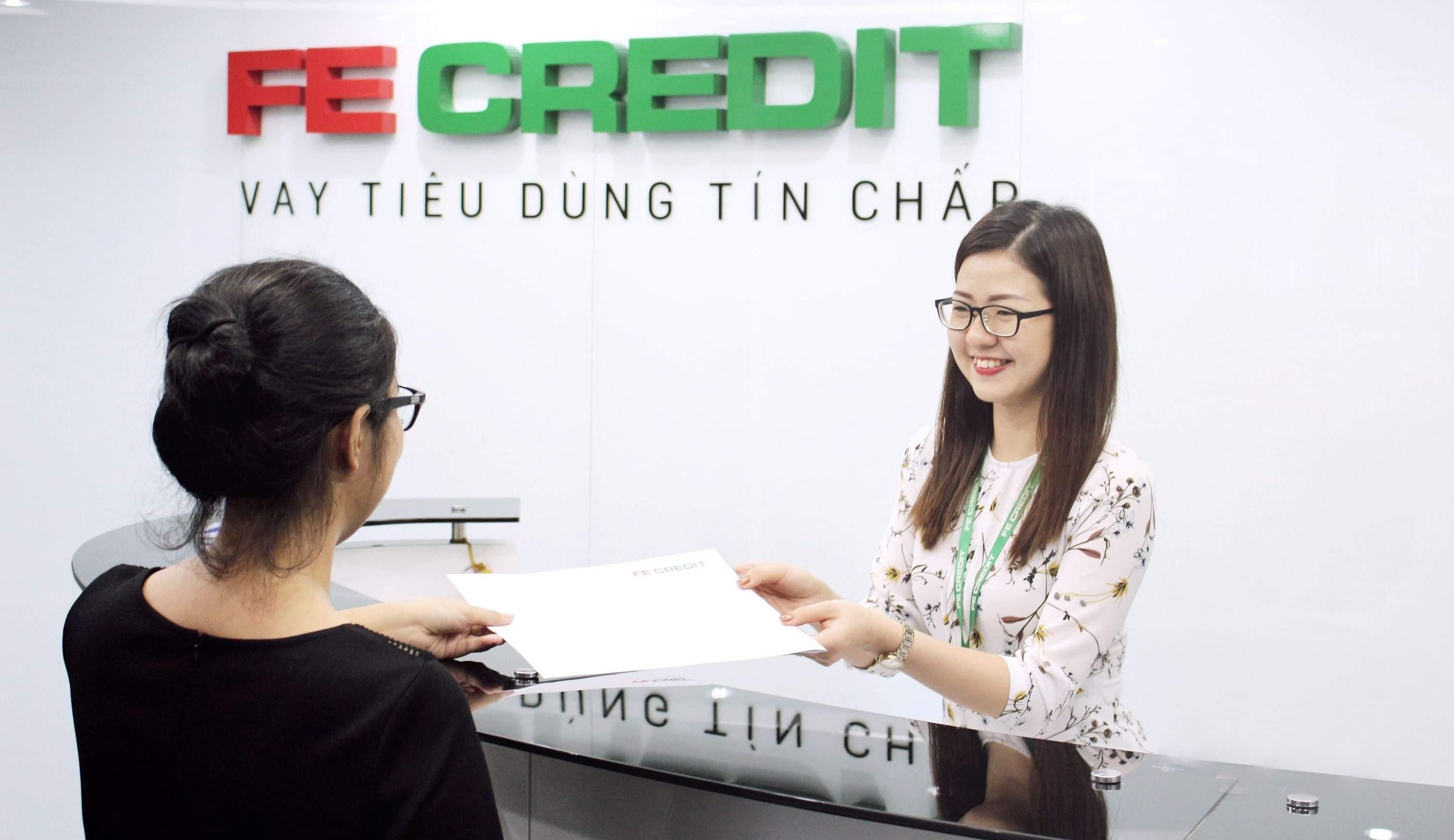 Giờ làm việc công ty Fe Credit