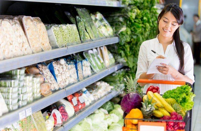Liệt kê danh sách các món đồ cần mua trước khi đi siêu thị