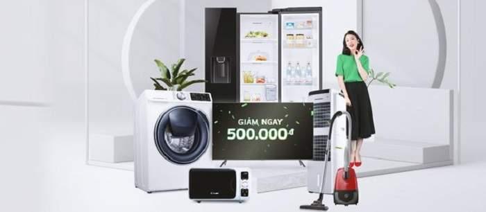 Giảm 500.000 VND khi mua sắm tại Nguyễn Kim
