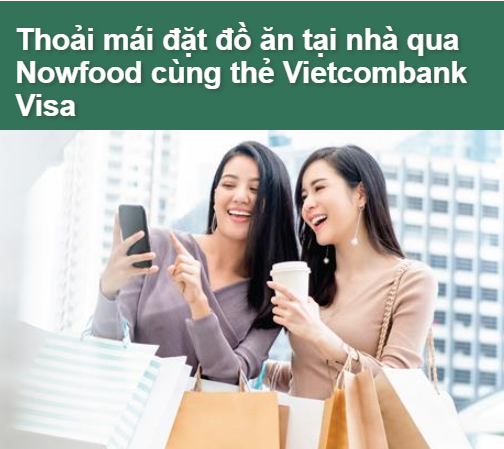 Khách hàng được ưu đãi giảm giá tại Nowfood