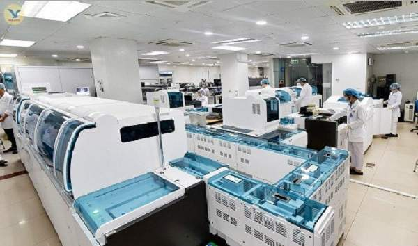 Hệ thống máy xét nghiệm đạt tiêu chuẩn quốc tế ISO 15189:2012