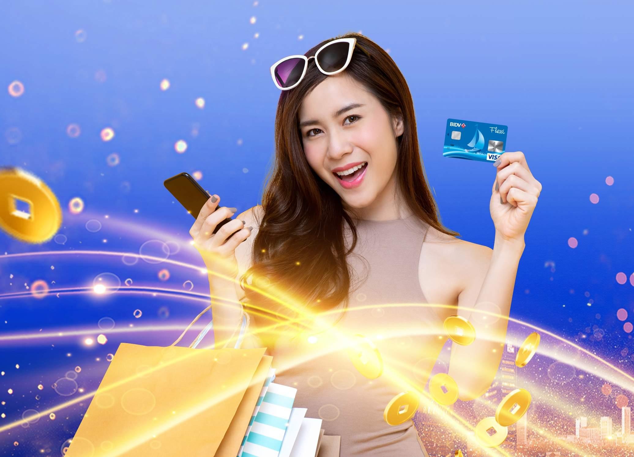 Tiện ích từ thẻ tín dụng BIDV Flexi