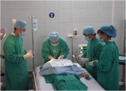 Đặt Catheter TMTT