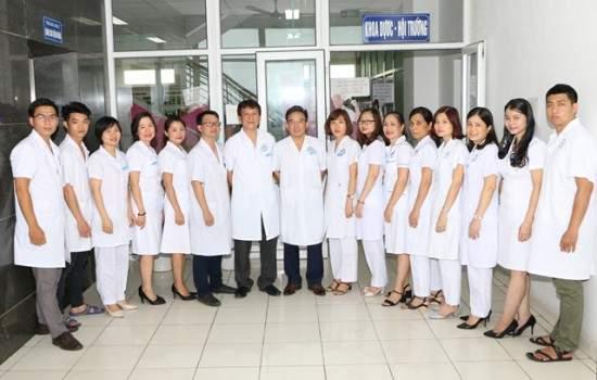 Khoa dược bệnh viện đa khoa Nông nghiệp