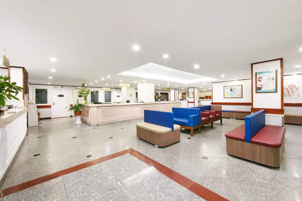 Cơ sở vật chất bệnh viện hồng ngọc