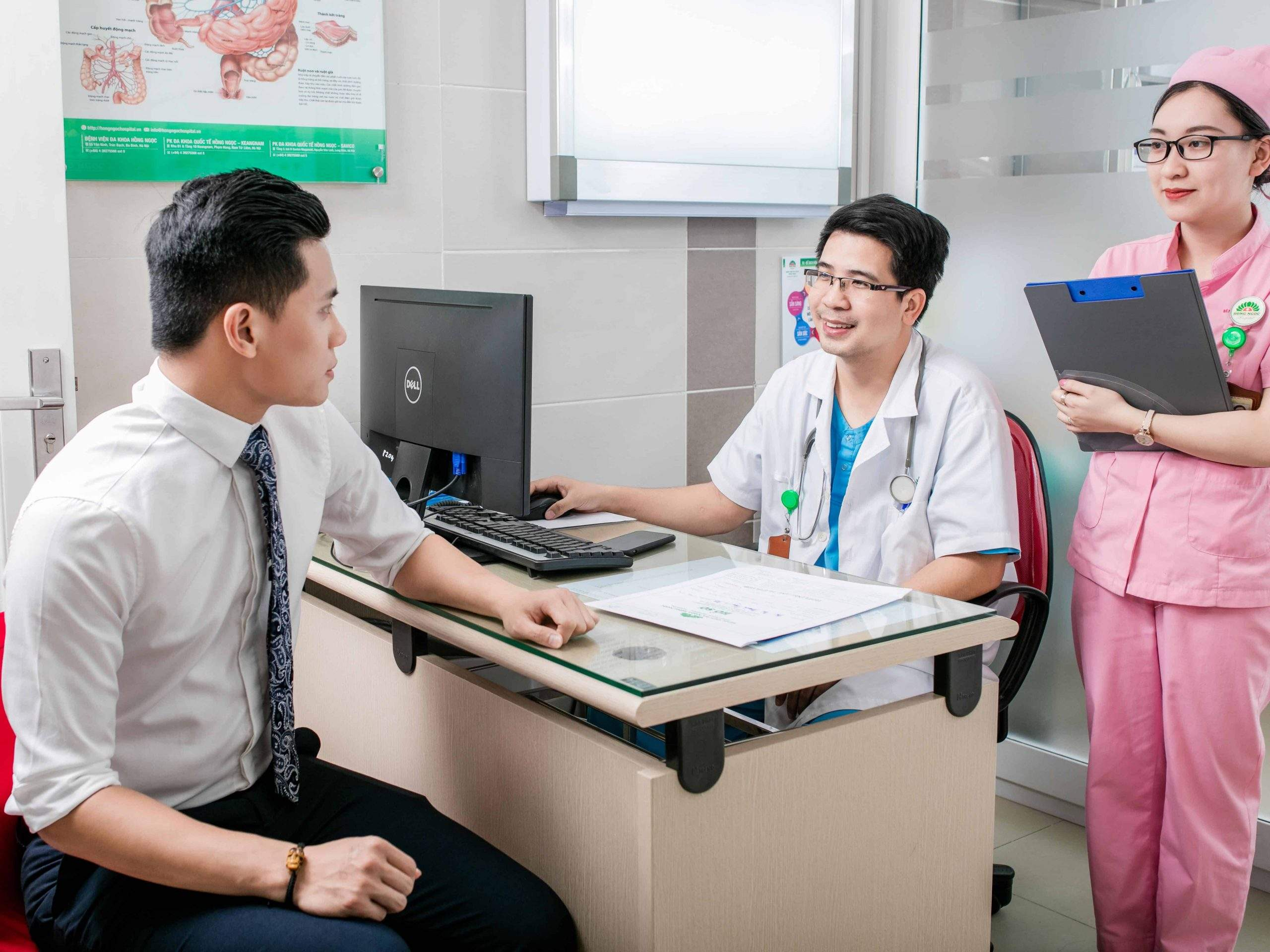 Khoa nam học bệnh viện đa khoa Hồng Ngọc