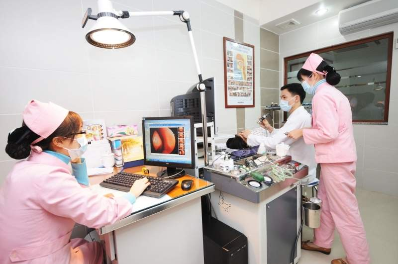 Khoa Tai mũi họng bệnh viện đa khoa Hồng Ngọc