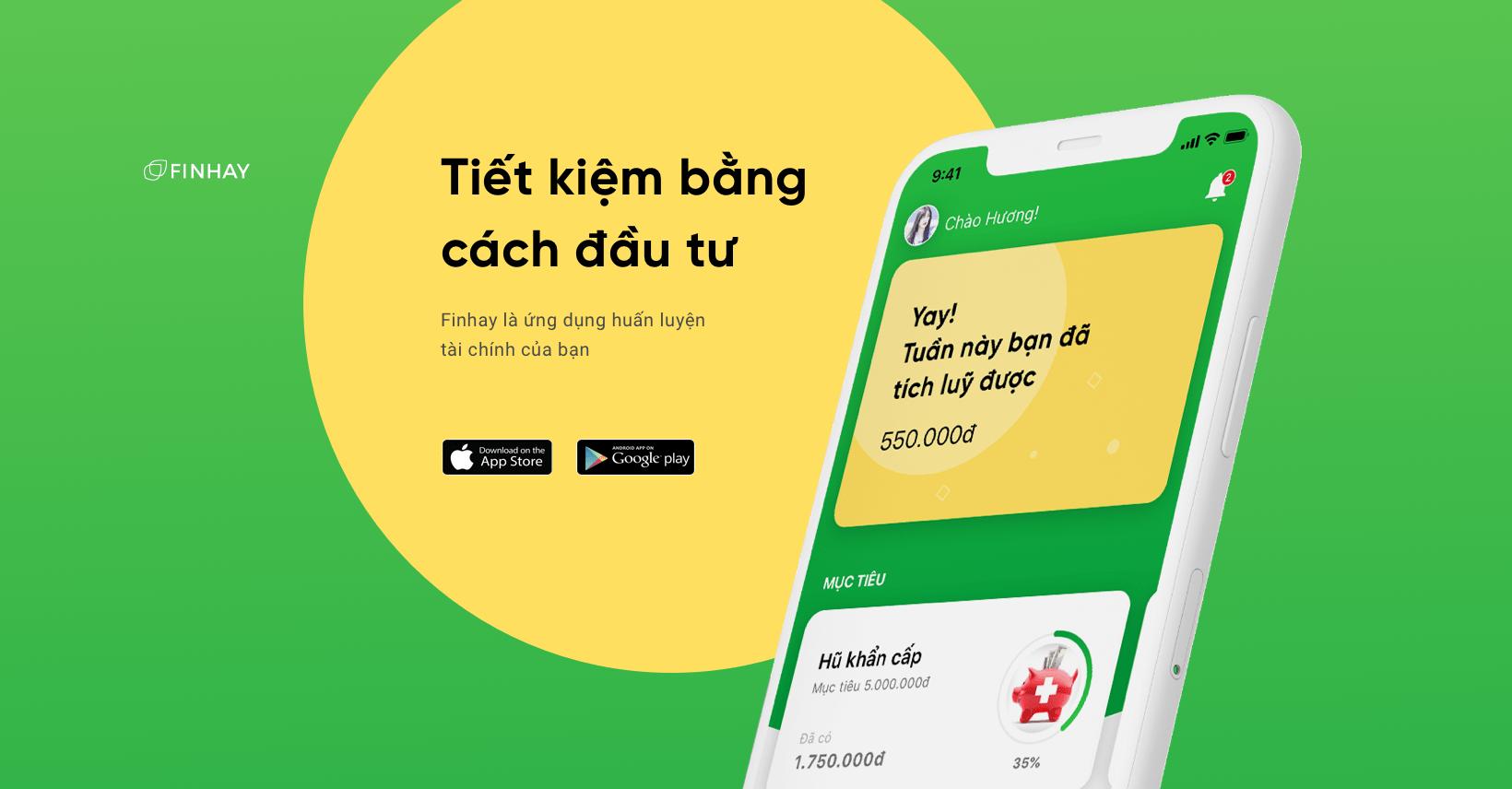 App tiết kiệm tiền Finhay