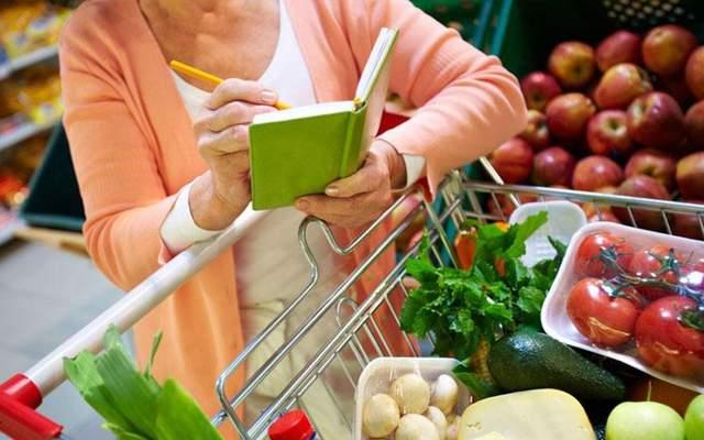 Lên danh sách những thực phẩm cần mua
