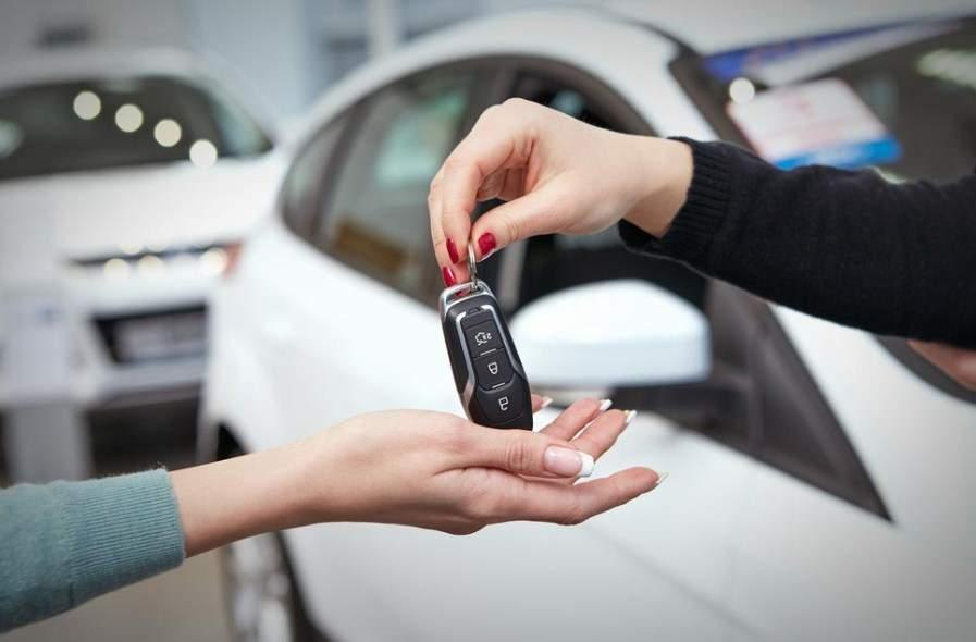 Vay tín chấp mua xe ô tô