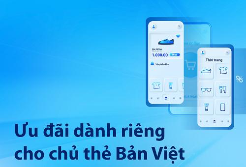 Ưu đãi dành cho thẻ Bản Việt