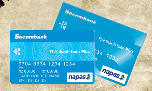 Số thẻ Sacombank