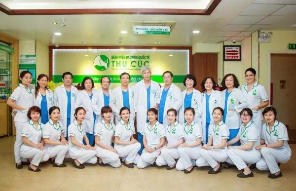 Đội ngũ bác sĩ bệnh viện Thu Cúc