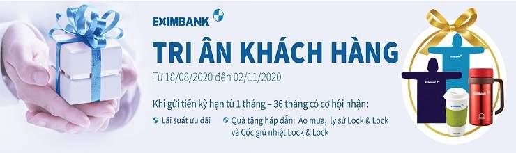 Chương trình tri ân khách hàng của Eximbank
