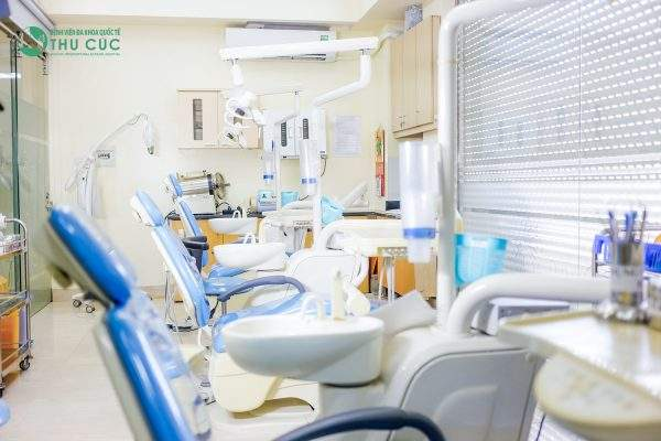 Trang thiết bị khoa răng hàm mặt