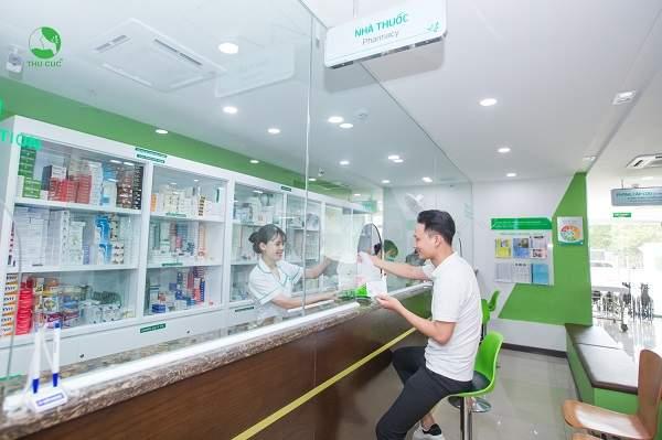 Khoa Dược bệnh viện Thu Cúc