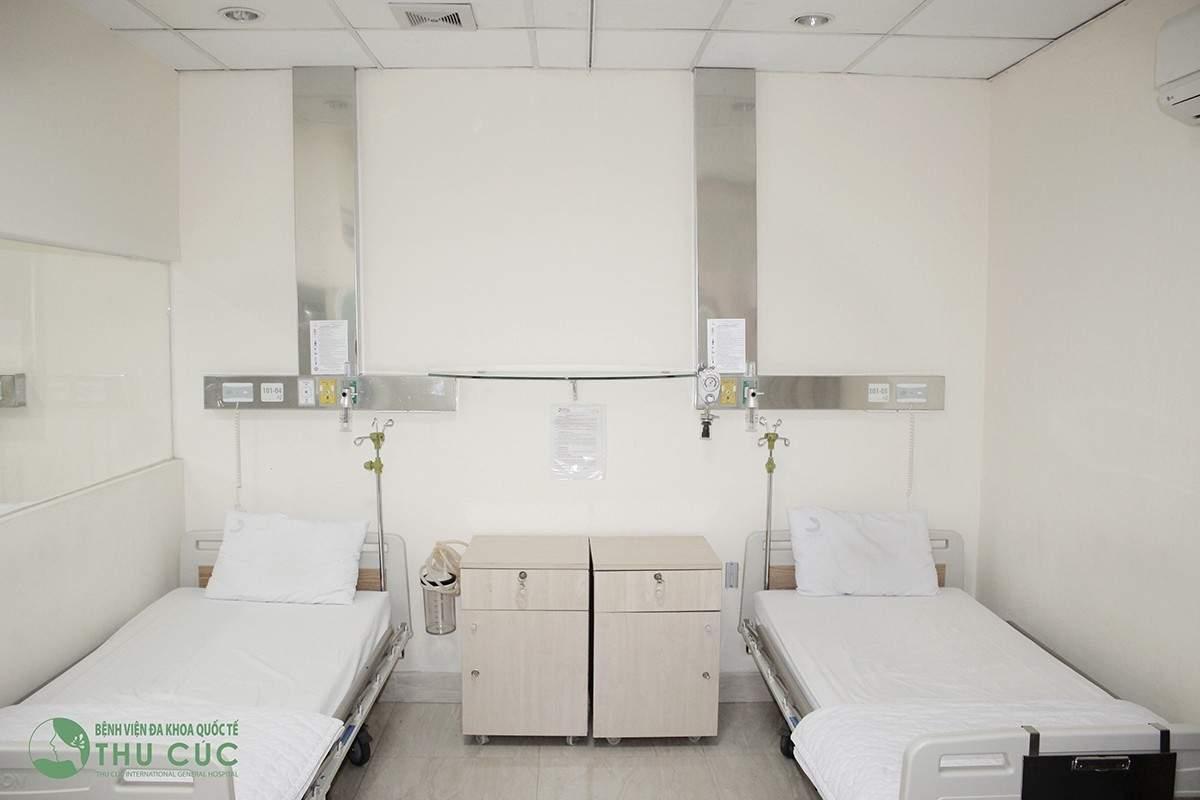 Phòng cấp cứu bệnh viện thu cúc