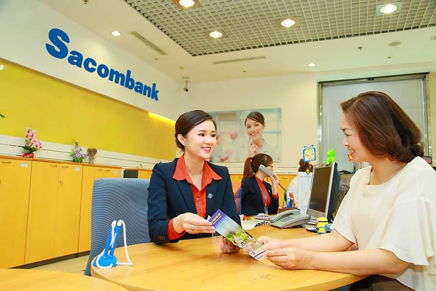 Bạn có thể đến ngân hàng Sacombank để mua bảo hiểm