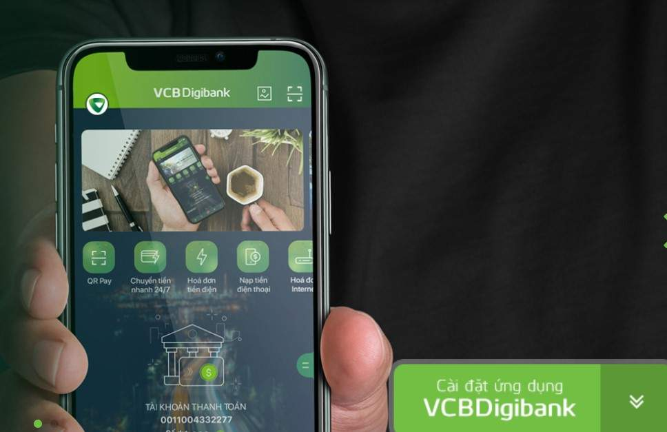 Chuyển tiền VCB Digibank mobile