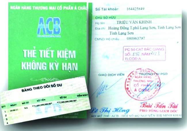 Thông tin cần biết về gửi tiết kiệm không kỳ hạn ACB