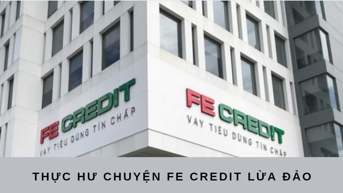 Vay tiền mặt Fe Credit có lừa đảo không