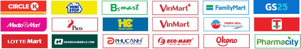 Cửa hàng liên kết với Payoo