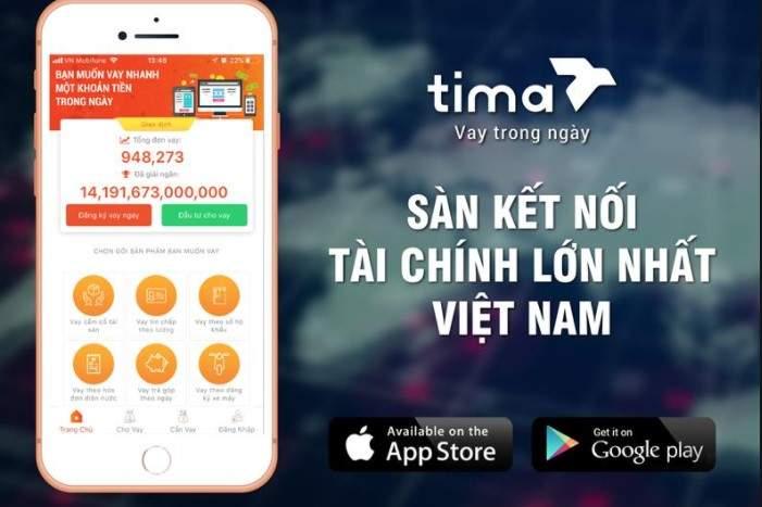 Vay tiền Tima qua App