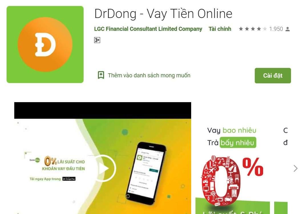 tìm kiếm app Doctor Đồng