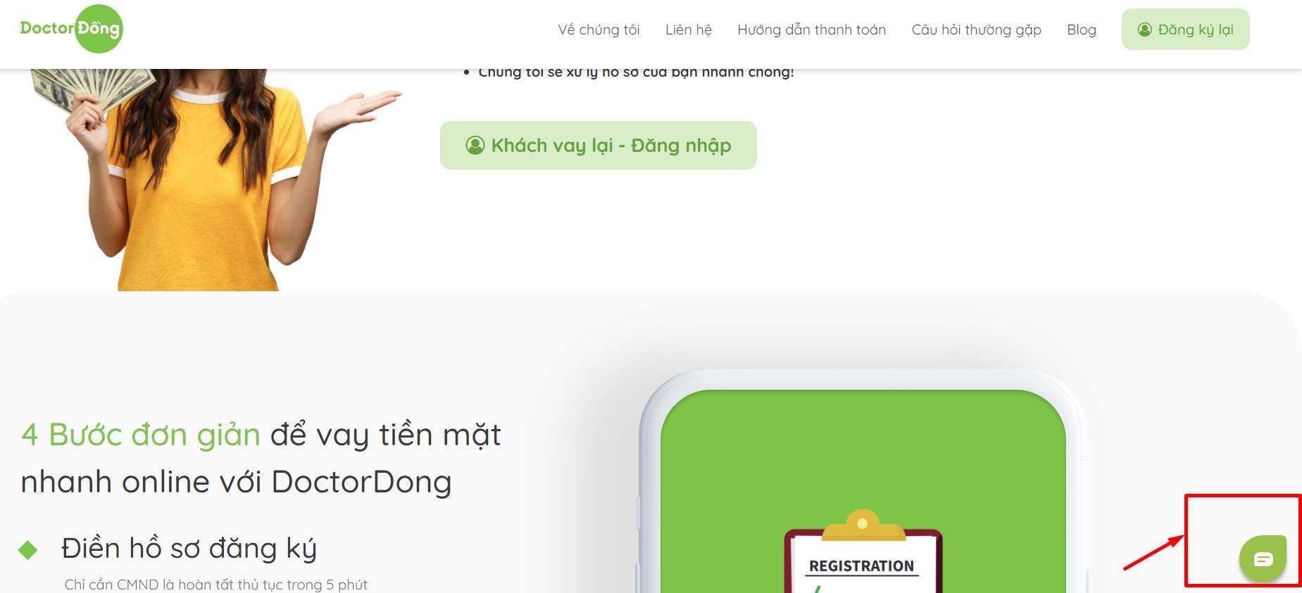 Liên hệ Doctor Đồng qua website