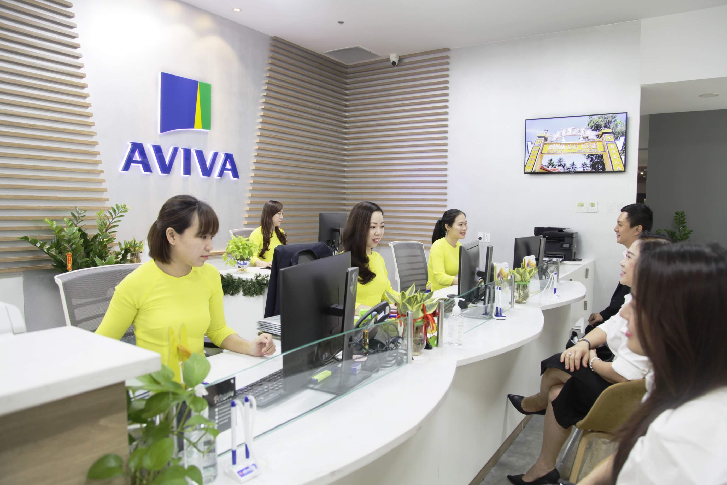 Đến phòng giao dịch của Aviva để được hỗ trợ