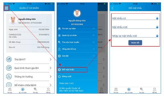 Hướng dẫn sử dụng ứng dụng VssID để tra cứu bảo hiểm y tế online
