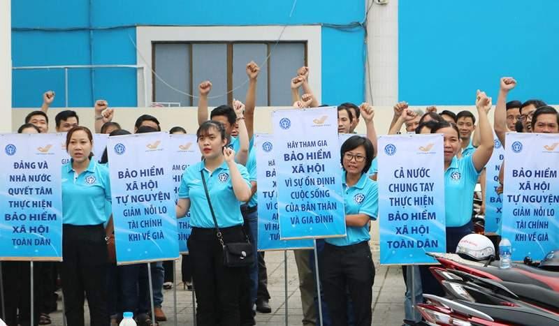 Chiến dịch tuyên truyền BHXH tự nguyện