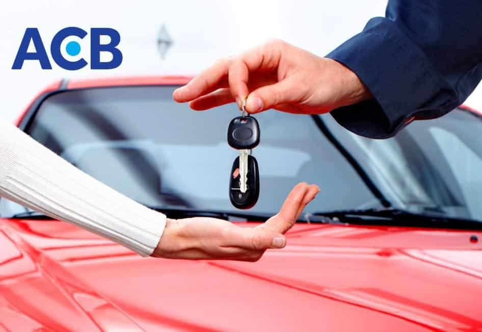 Vay mua ô tô ACB là sản phẩm được nhiều khách hàng lựa chọn