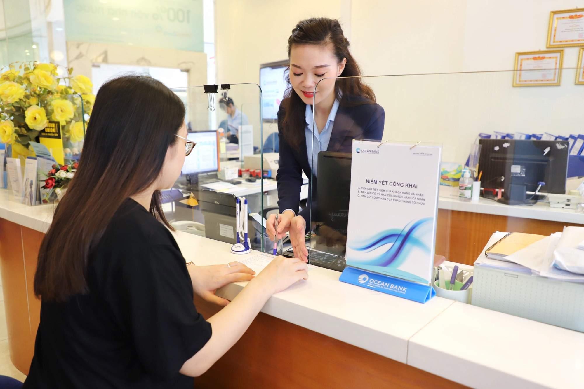 Nhiều khách hàng đăng ký vay kinh doanh tại OceanBank
