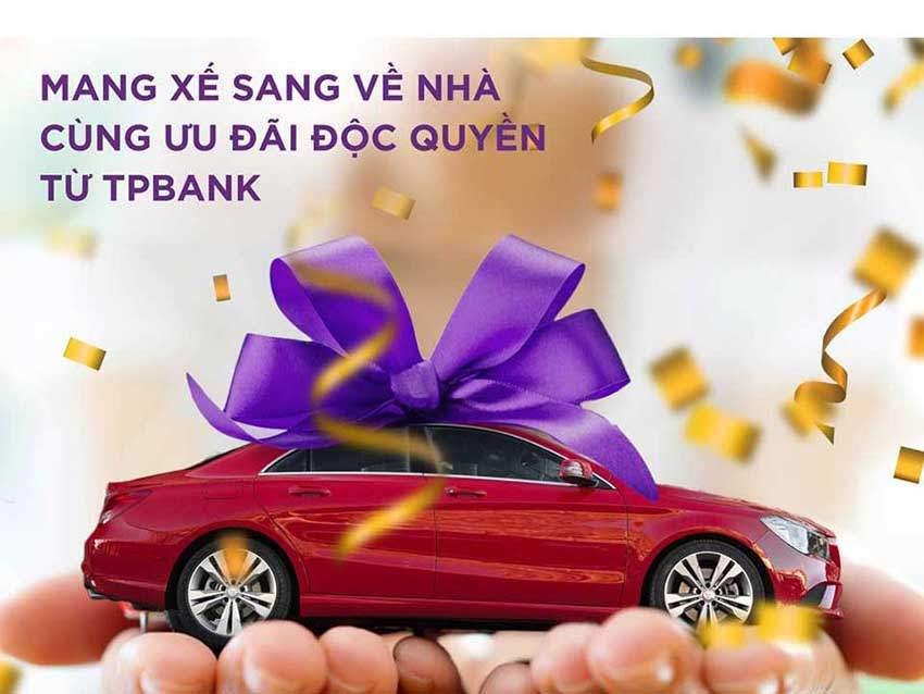 Vay mua ô tô TPBank giúp bạn sở hữu chiếc xe mơ ước