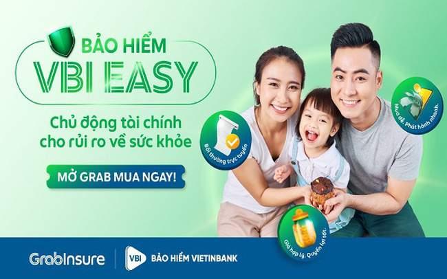 VBI hợp tác GrabInsure ra mắt sản phẩm bảo hiểm sức khỏe VBI Easy