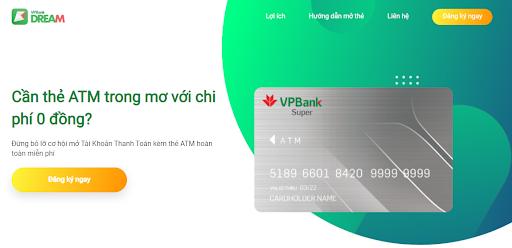 Cách đăng ký thẻ ATM online VPBank dành cho người mới