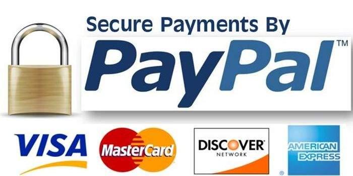 Sử dụng Paypal cùng với thẻ Visa hoặc MasterCard