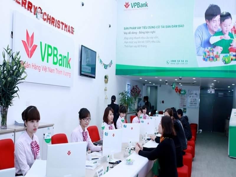 VPBank nằm trong top 10 ngân hàng uy tín nhất Việt Nam 2017 vay tín chấp qua lương