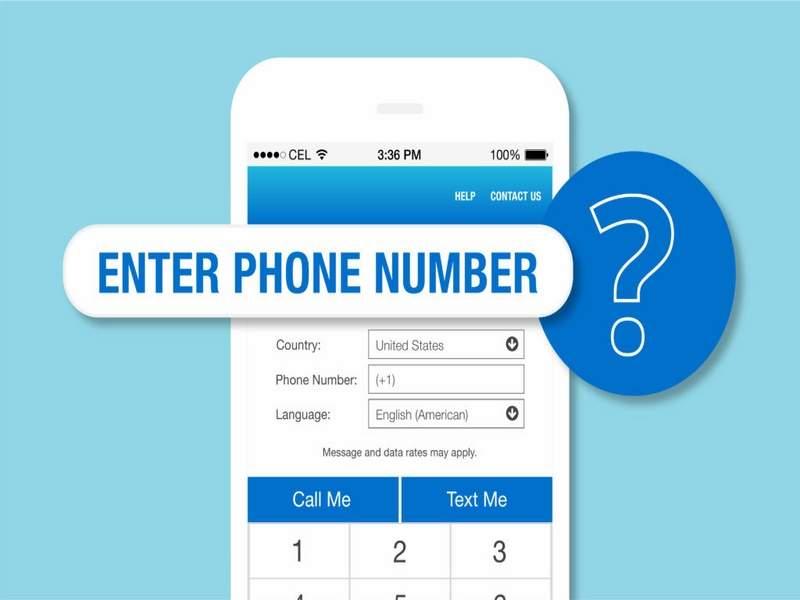 Bạn cần cung cấp số điện thoại