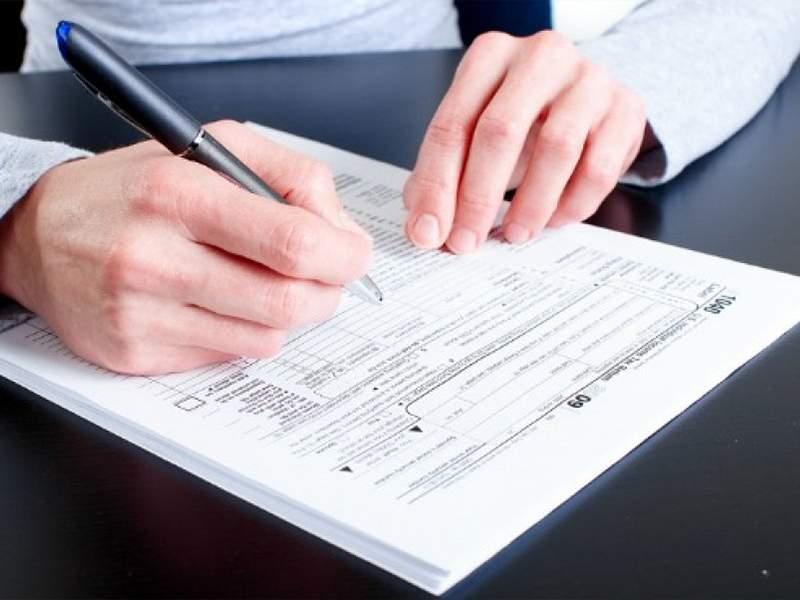 Bạn có thể tải và hoàn thành trước mẫu đơn