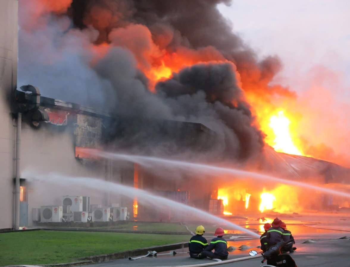 Nhiều vụ cháy nổ gây thiệt hại nghiêm trọng